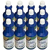 Zep Commercial Acidic Toilet Bowl Cleaner, Case of 12-32oz. Bottles, Clings to Vertical Surfaces On Toilets and Urinals, 10% Acid Formula (ZUATB32)