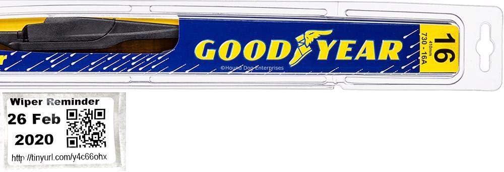 Amazon Com Rear Wiper Blade For 2010 2015 Toyota Prius Reminder