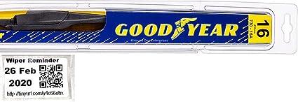 2010-2014 Lexus ES Series Goodyear Hybrid Style Wiper Blade Set of 2