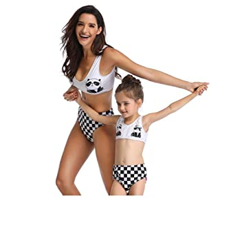 San qing Traje de baño para Padres y niños Bikini, niña ...