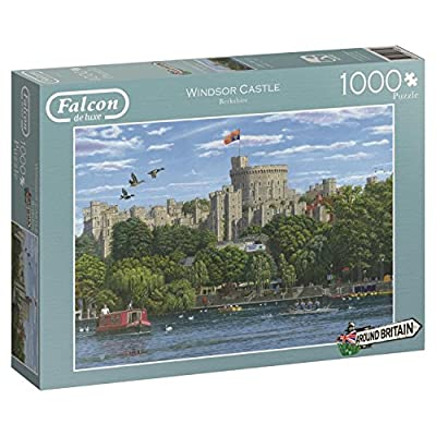 Falcon De Luxe Around Britain Windsor Puzzle Da 1000 Pezzi