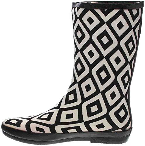 Corkys Womens Foudre Pluie Boot Noir