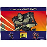 2Bhip Iron Giant Animated Adventure Movie It Came From Space Front Print Pillow Case