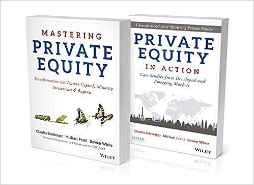 Amazon com: Mastering Private Equity Set (9781119328032