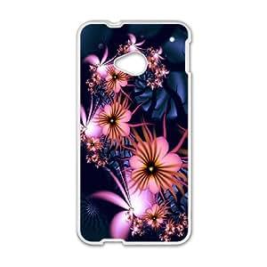 C-U-N7099639 Phone Back Case Customized Art Print Design Hard Shell Protection HTC One M7