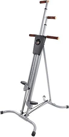 Zerone Climber Machine, escalada vertical Stepper Fitness antideslizante plegable Altura ajustable para principiantes