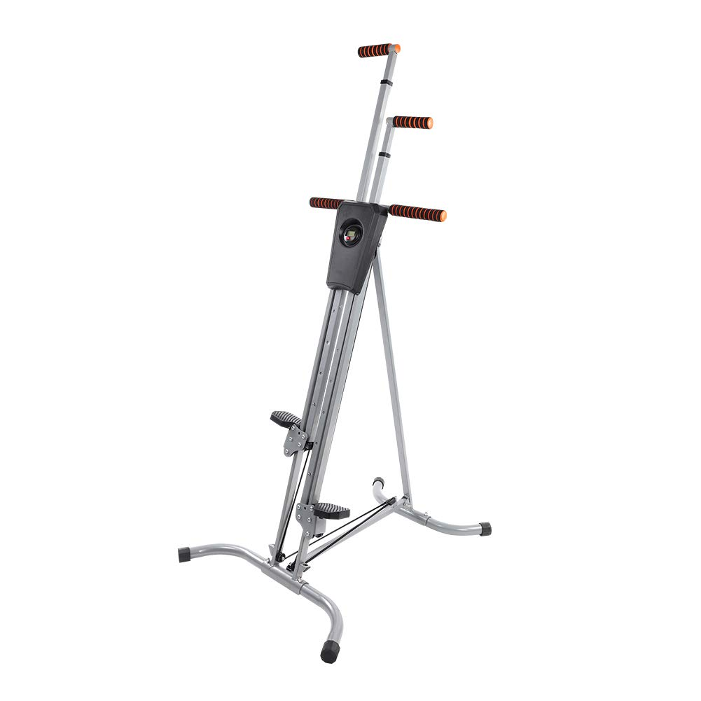 Yosooo Home Climber Machine, Adjustable Folding Heavy Duty Steel Vertical Full Body Workout Fitness Climber Climbing Cardio Exercise Machine Home Gym Stepper by Yosooo (Image #1)
