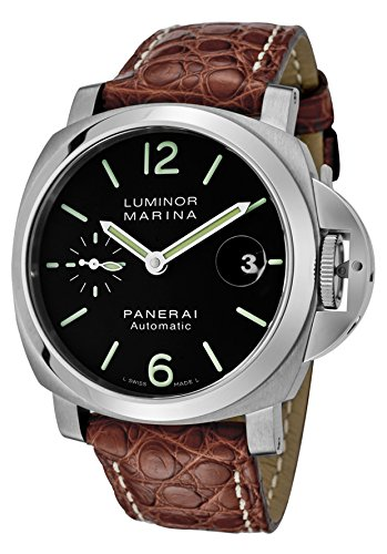 Panerai Luminor Marina Men's 40mm Automatic Watch - PAM00048