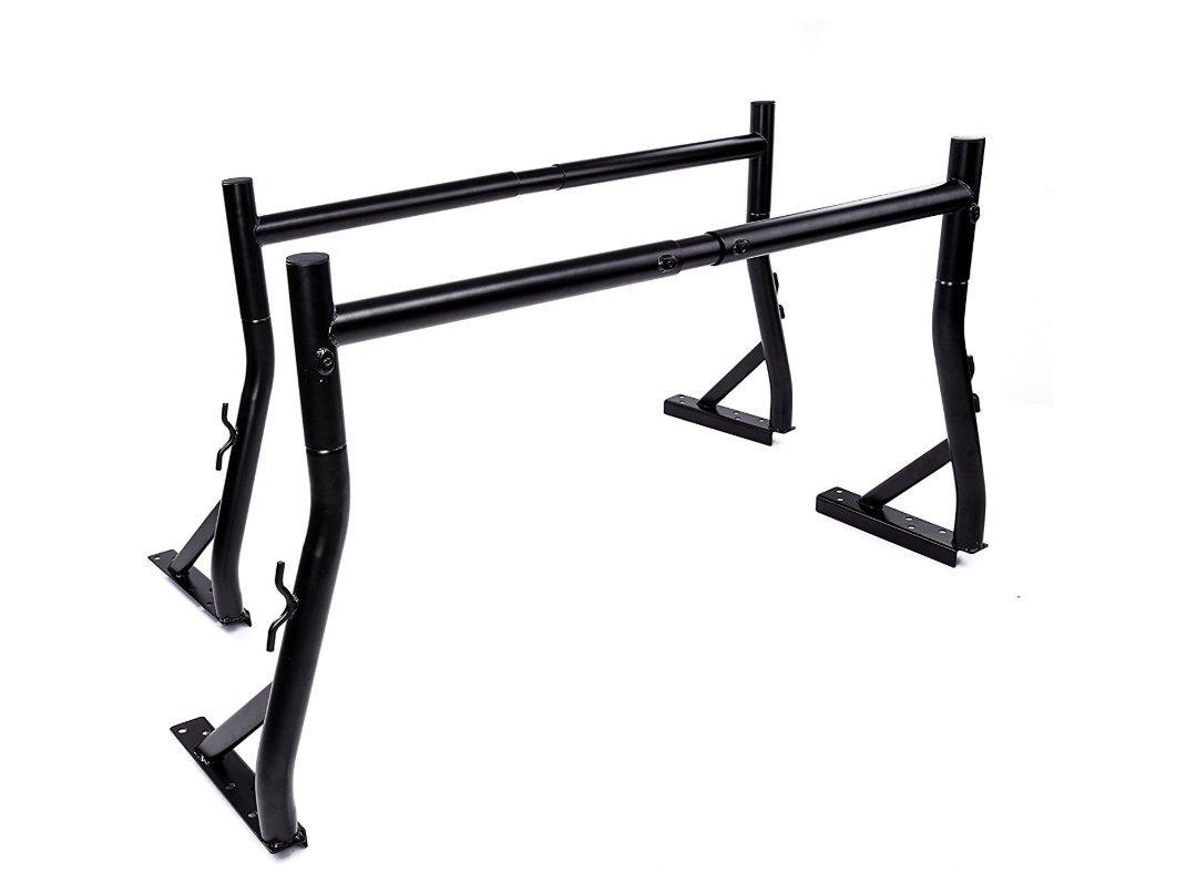 Mrhardware Universal Adjustable Pair Heavy Duty Truck Ladder Rack Contractor Lamber Cargo Bed Rack HKYM