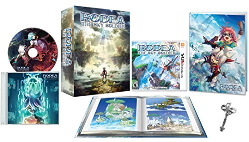 Rodea The Sky Soldier Collectors edition Nintendo 3DS (W/Bonus Key)