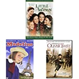 Little Women (Collector's Series) + Madeline + Oliver Twist (2005)