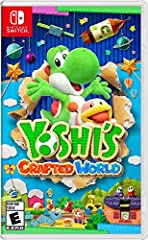 Jump into a new Yoshi adventure in a world made of everyday objects—like boxes and paper cups! As Yoshi, you'll leap up high, gulp down enemies, and set out on a treasure hunt to find all the different collectables. On the flip side, stages c...
