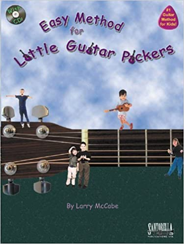 Easy Method for Little Guitar Pickers Book and CD by McCabe. Larry (2004-01-01)