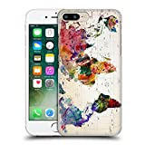 Official Mark Ashkenazi Map Of The World Pop Culture Hard Back Case for Apple iPhone 6 Plus / 6s Plus