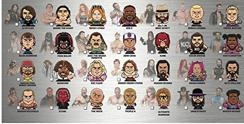 Party Animal Teenymates WWE Wrestling Series 2 Complete Base Set of 28 Mini Figures Minifigure -