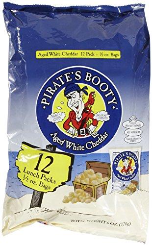 Pirate Brands Pirate's Booty, 0.5 oz, 12 pk