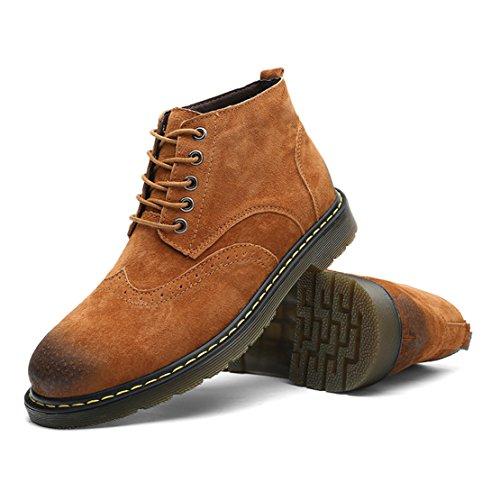 Gå Tur Mens Nya Bloch Chukka Boots Brown