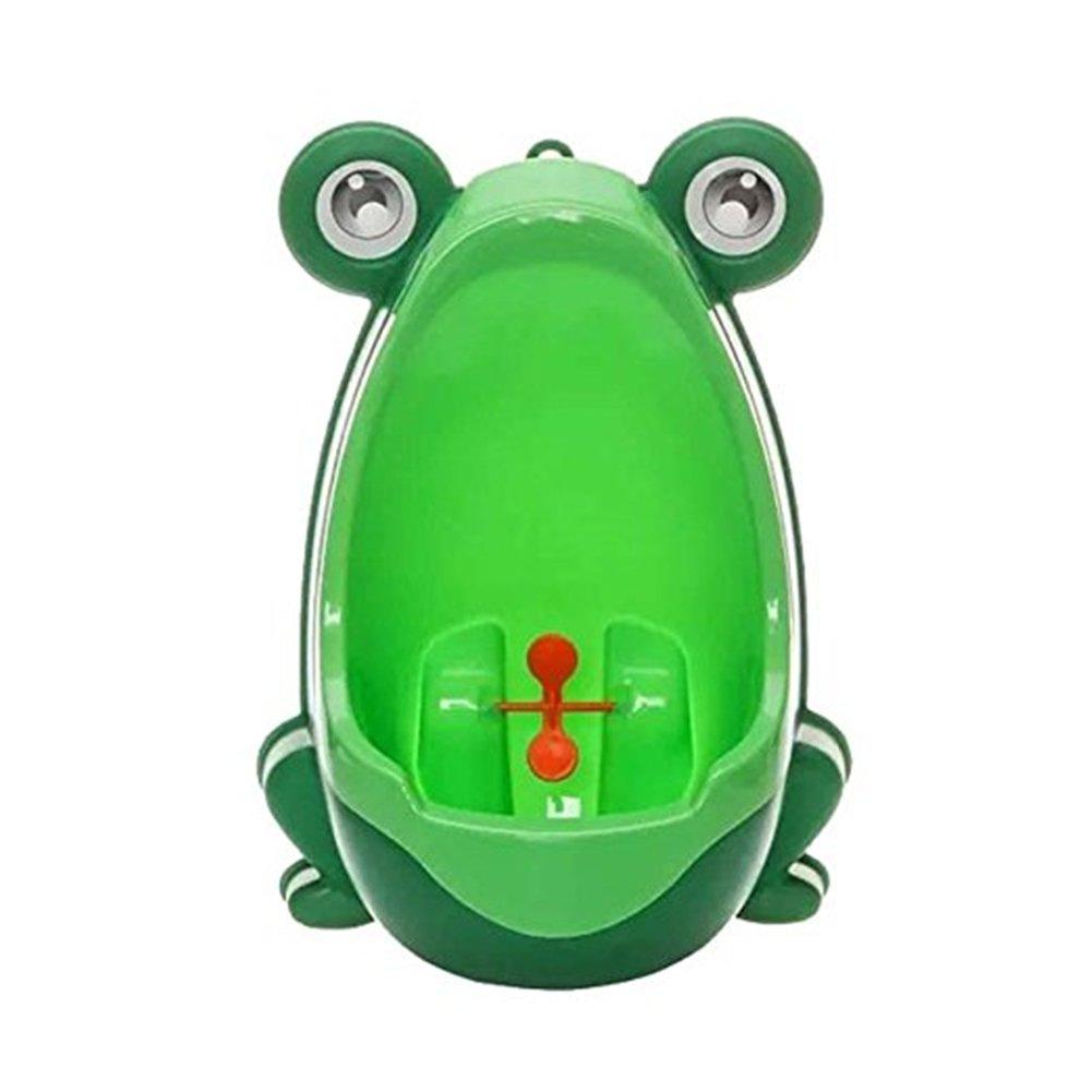 Rana de orinal bebé orinales perfecto Mommy 's Helper–Braguitas de entrenamiento para niños baño herramienta verde PHT