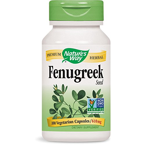 Nature's Way Fenugreek Seed VCaps, 100 ct