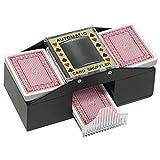 Casino Deluxe Automatic 2 Deck Card Shuffler Poker Texas Hold'em Black Jack