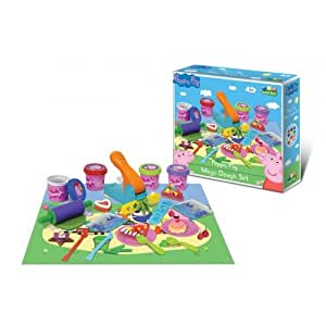 Amazon Com Peppa Pig Mega Dough Set Toys Amp Games