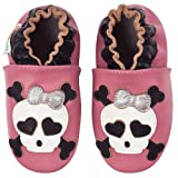 Momo Baby Infant/Toddler Pretty in Punk Soft Sole Leather Shoes