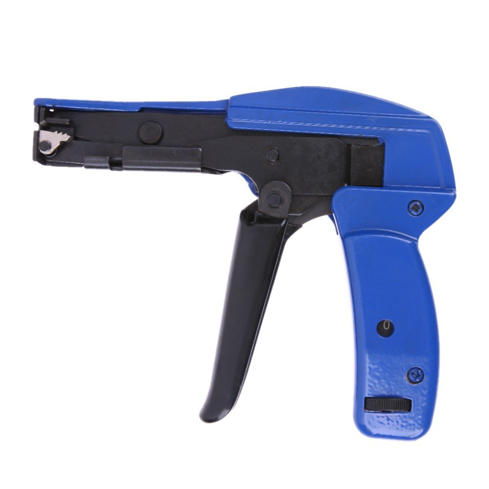Awakingdemi Cable Tie Gun, Fastening and cutting tool special for Cable Tie Gun for Nylon Cable Tie Fasten and Cut Cables