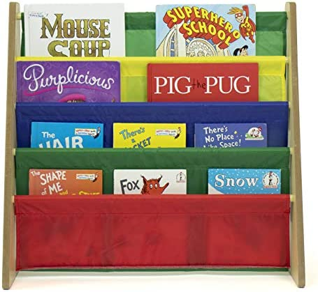 Humble Crew Kids Book Rack Storage Bookshelf Natural/Primary