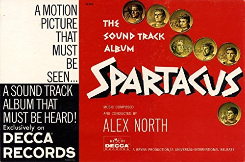 SPARTACUS (1961) Record store counter display/standee / Extremely rare, superb condition
