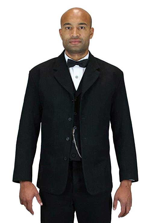 Men's Vintage Style Suits, Classic Suits Historical Emporium Mens 100% Brushed Cotton Sack Coat $139.95 AT vintagedancer.com