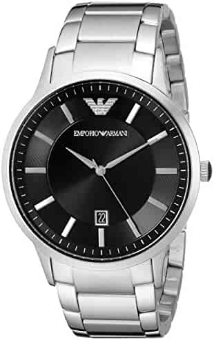 Emporio Armani Men's AR2457 Dress Silver Watch