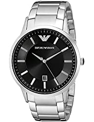 Emporio Armani Mens AR2457 Dress Silver Watch