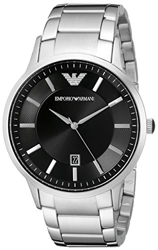 Emporio Armani Men's AR2457 Dress Silver - Mens Armani Emporio
