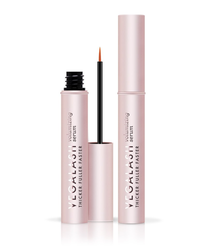 vegaLASH Volumizing Serum by Vegamour - Natural Eyelash Growth Enhancer Serum, Clinically Proven, Longer Lashes, 4mL/.13oz