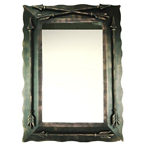 DeLeon Collections Western Metal Arrow Wall - Western Mirrors Bathroom Vanity