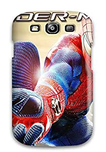 New Style 1180782K14237832 High-end Case Cover Protector For Galaxy S3(the Amazing Spider Man Game)