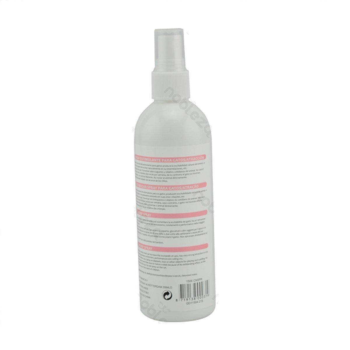 Spray estimulante atrayente para gatos Nobleza, contenido 175 ml: Amazon.es: Hogar