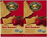 Organic Un Frosted Strawberry Toaster Pastry
