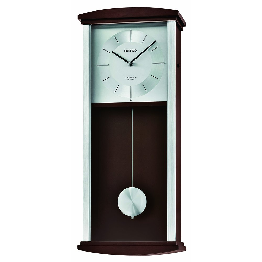 Amazon seiko qxm555blh japanese quartz wall clock watches amipublicfo Image collections