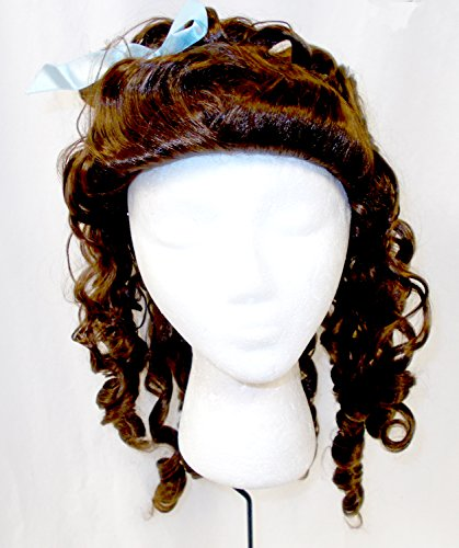 (PMG Halloween Brown Baby Doll Costume Wig OSFM 16in)