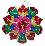 Gift Ko Handmade Parol Traditional Philippine Christmas Lantern, Sampabell, 18 inch, Multicoloured