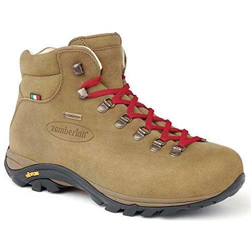 Gore Boot Suede Tex (Zamberlan - 320 Trail lite evo GTX WNS - Light Hiking Boots - Brown - 8.5)