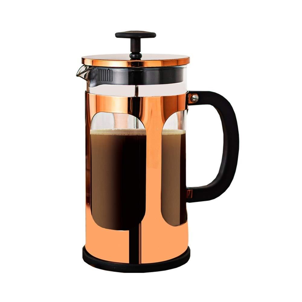 HUDEMR Cafetera Coffee Pot Brewing té Mano Brewer Francés café Appliance Servidor de café (Color : Stainless Steel, Size : 1000ml): Amazon.es: Hogar