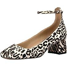 The Fix Women's Morgan Block-Heel Ankle Strap Dress Pump