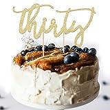 #7: 30th Birthday Cake Topper Decoration - THIRTY - 7