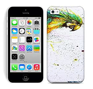 Running Gary Chinese Graffiti Artist And Painter Hua Tunan Creates A Laughing Parrot Out Of Splatters Hard Phone Case For Iphone 5C