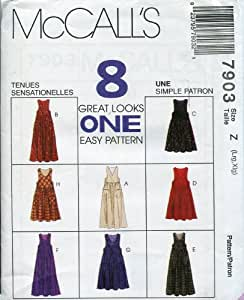 McCall's Pattern 7903 ~ Misses' Pullover Jumper ~ Size L-XL