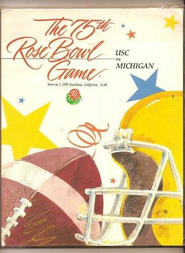 1989 Rose Bowl Program USC ()