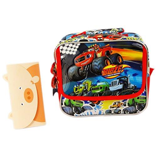 Price comparison product image Blaze and the Monster Machines Crossbody bag Handbag Necessaire for Travel Multicolour