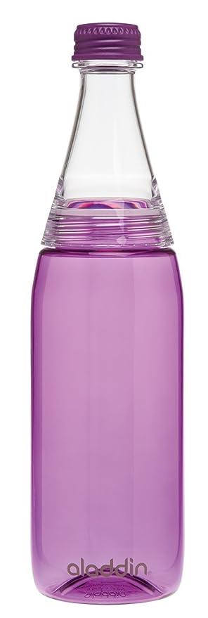 Aladdin Fresco Twist & Go, Botella de Agua con tapadera de Dos Lados, plástico